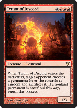 Tyrant of Discord | Magic: The Gathering Card