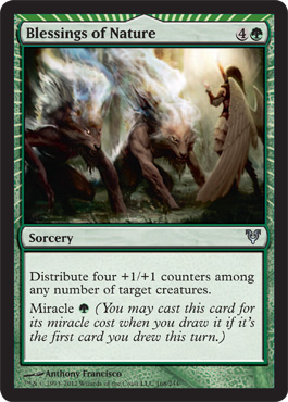 Blessings of Nature | Magic: The Gathering Card