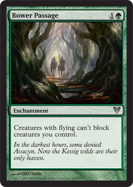 Bower Passage | Magic: The Gathering Card