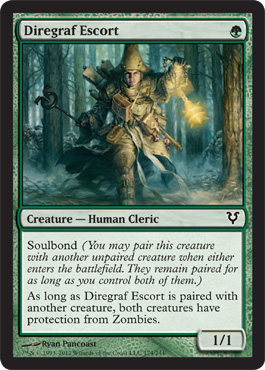 Diregraf Escort | Magic: The Gathering Card