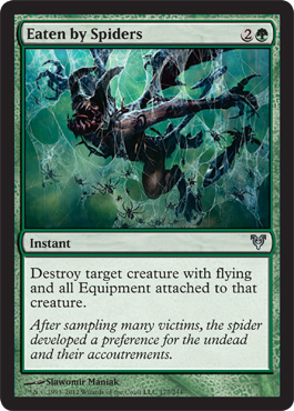 Eaten by Spiders | Magic: The Gathering Card