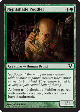 Nightshade Peddler | Magic: The Gathering Card