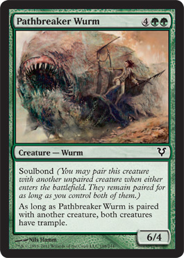 Pathbreaker Wurm | Magic: The Gathering Card