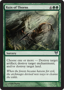 Rain of Thorns | Magic: The Gathering Card