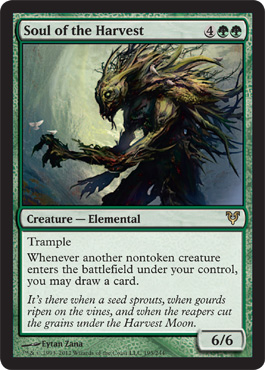 Soul of the Harvest | Magic: The Gathering Card