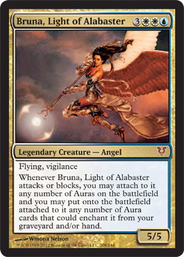 Bruna, Light of Alabaster | Magic: The Gathering Card