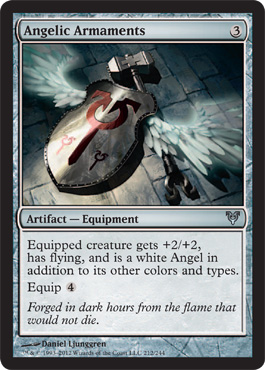 Angelic Armaments | Magic: The Gathering Card