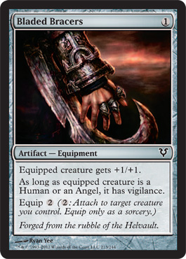 Bladed Bracers | Magic: The Gathering Card