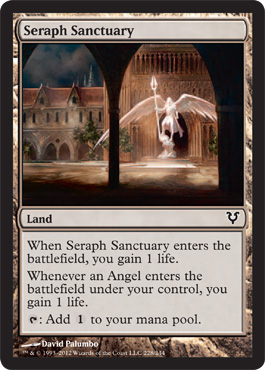 Seraph Sanctuary | Magic: The Gathering Card