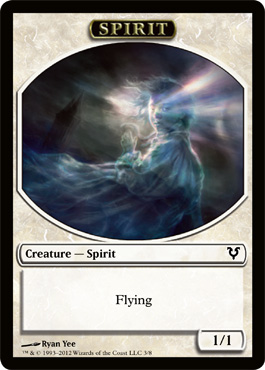 Spirit Token | Magic: The Gathering Card
