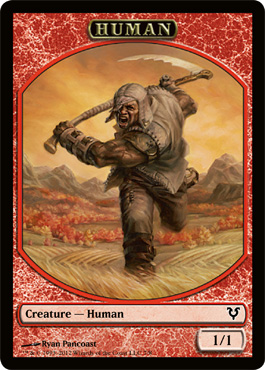 Human Token | Magic: The Gathering Card