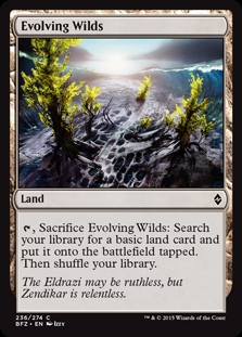 Evolving Wilds | Magic: The Gathering Card