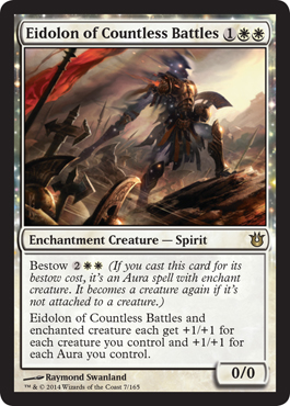 Eidolon of Countless Battles | Magic: The Gathering Card