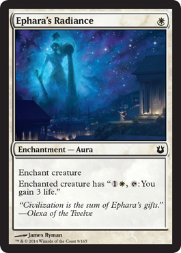 Ephara's Radiance | Magic: The Gathering Card