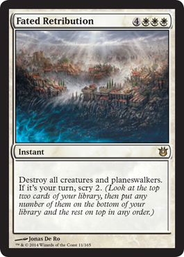 Fated Retribution | Magic: The Gathering Card