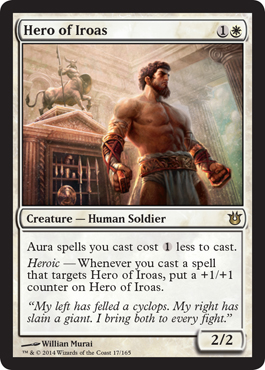 Hero of Iroas | Magic: The Gathering Card
