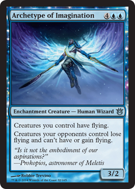 Archetype of Imagination | Magic: The Gathering Card