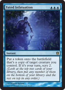 Fated Infatuation | Magic: The Gathering Card