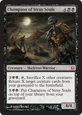 Champion of Stray Souls | Magic: The Gathering Card