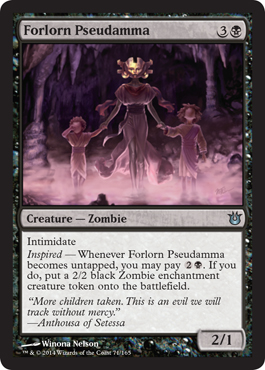 Forlorn Pseudamma | Magic: The Gathering Card