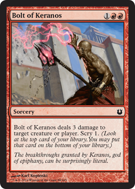 Bolt of Keranos | Magic: The Gathering Card
