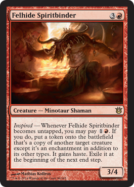 Felhide Spiritbinder | Magic: The Gathering Card