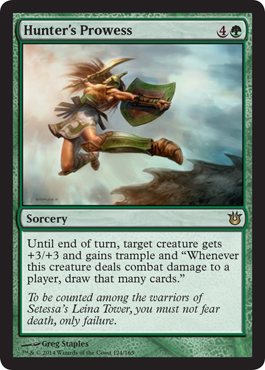 Hunter's Prowess | Magic: The Gathering Card