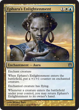 Ephara's Enlightenment | Magic: The Gathering Card
