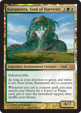 Karametra, God of Harvests | Magic: The Gathering Card
