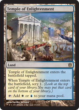 Temple of Enlightenment | Magic: The Gathering Card