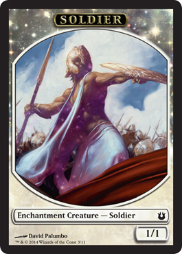Soldier Token in Born of the Gods