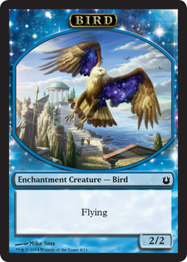 Bird Token in Born of the Gods