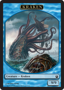 Kraken Token in Born of the Gods