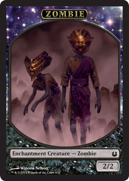 Zombie Token in Born of the Gods