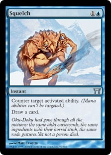 Squelch | Champions of Kamigawa | Magic: The Gathering at ... Planeswalker Activated Ability