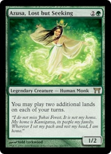 Azusa, Lost but Seeking | Magic: The Gathering Card