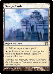 Eiganjo Castle | Magic: The Gathering Card