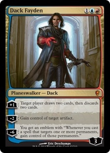 Dack Fayden | Magic: The Gathering Card