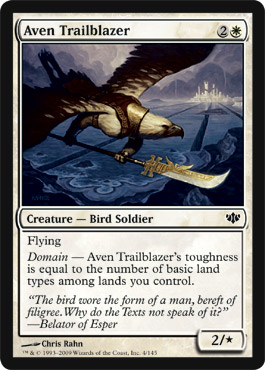 Aven Trailblazer | Magic: The Gathering Card