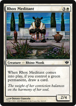 Rhox Meditant | Magic: The Gathering Card