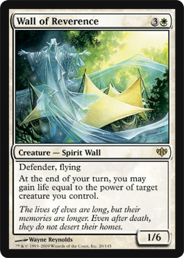 Wall of Reverence | Magic: The Gathering Card