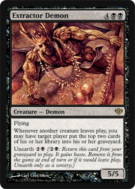 Extractor Demon | Magic: The Gathering Card