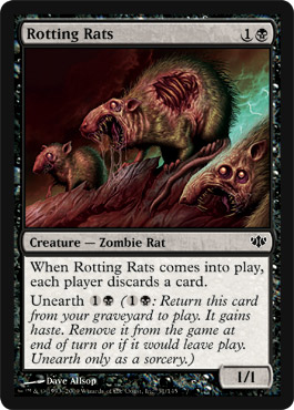 Rotting Rats | Magic: The Gathering Card