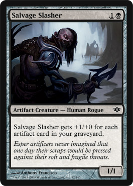 Salvage Slasher | Magic: The Gathering Card