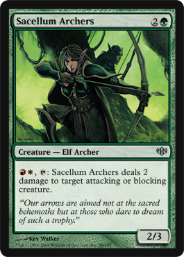 Sacellum Archers | Magic: The Gathering Card