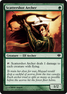 Scattershot Archer | Magic: The Gathering Card