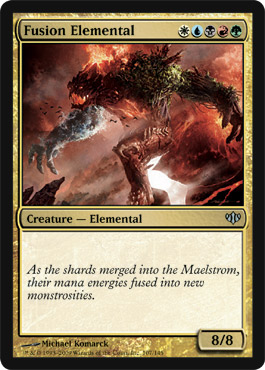 Fusion Elemental | Magic: The Gathering Card