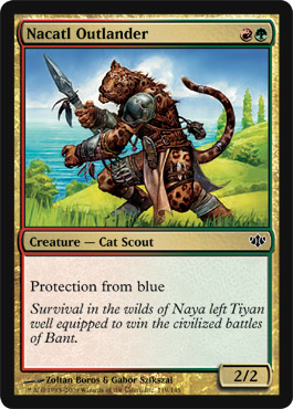 Nacatl Outlander | Magic: The Gathering Card