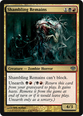 Shambling Remains | Magic: The Gathering Card