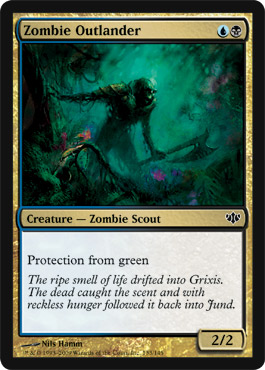 Zombie Outlander | Magic: The Gathering Card